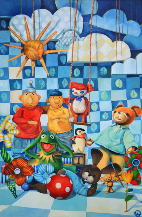 Children Friends /120x80 2014