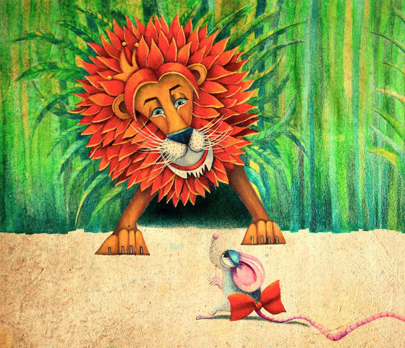 Lion And Rat